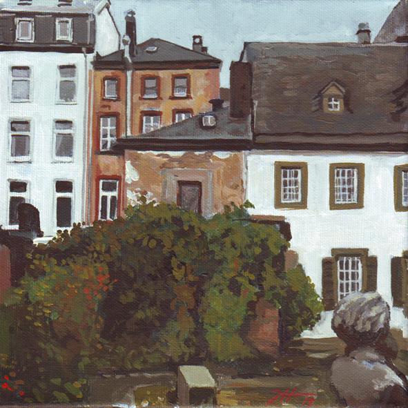Karl-Marx-Haus – der Garten des Philosophen