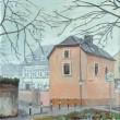 Glockengießerstraße – Morgennebel
