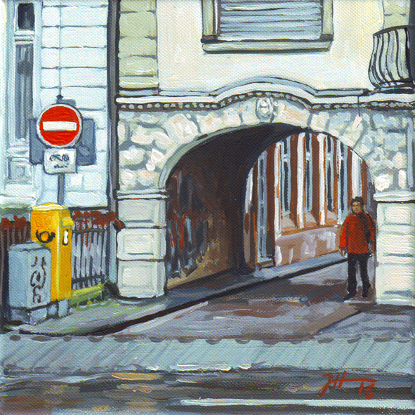 Theodor-Heuß-Allee – Eingang Steingröverweg