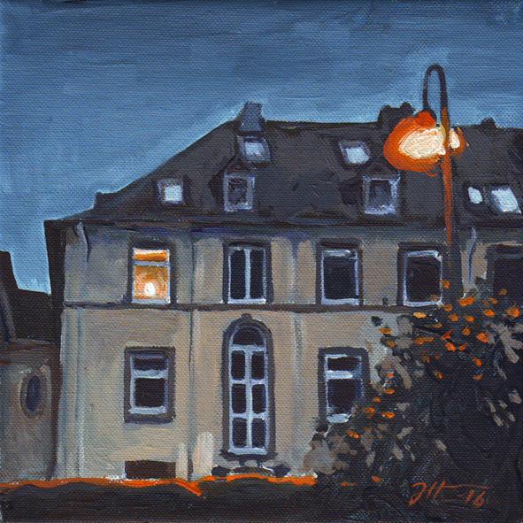 Abendfenster
