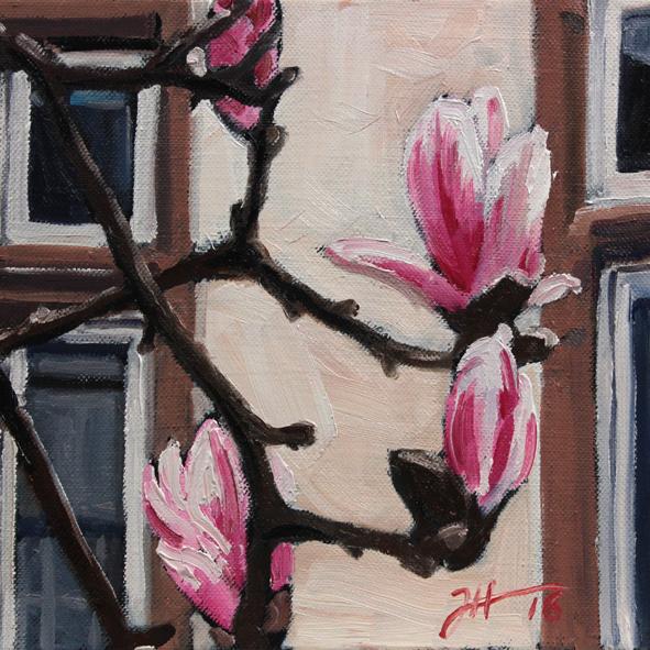 Frühling in der Feldstraße