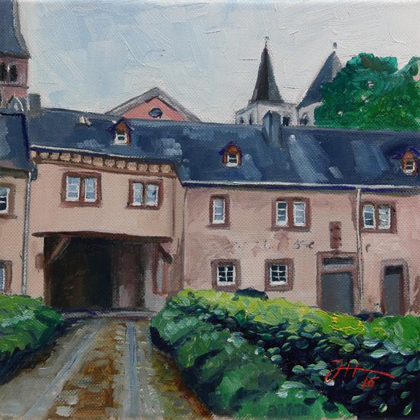Windstraße – hinter dem Tor