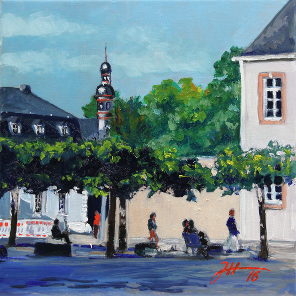 Domfreihof – Turm der Welschnonnenkirche