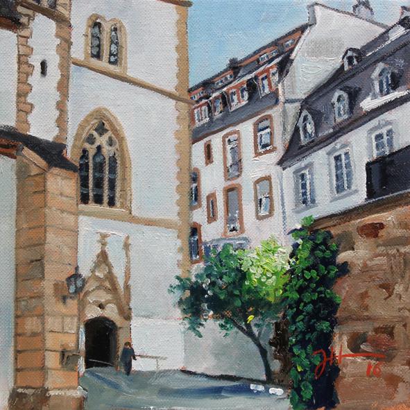 St- Gangolf – Eingang