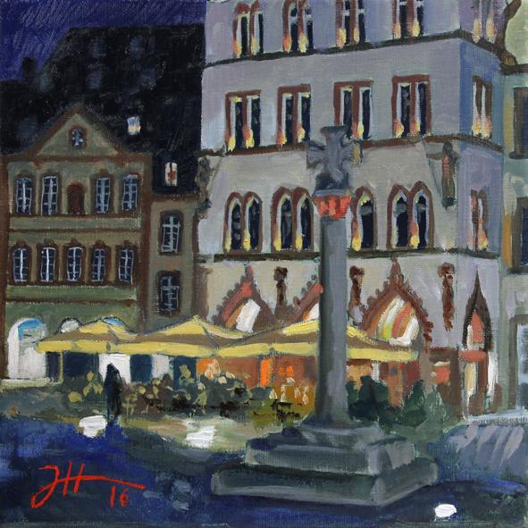 Sommerabend – Hauptmarkt