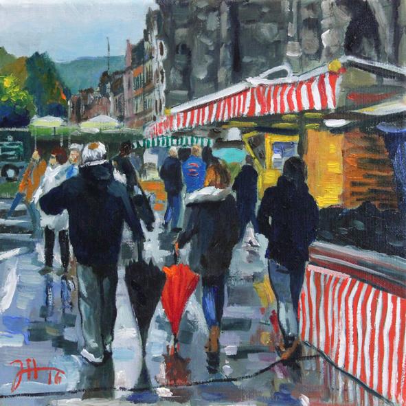 Bauernmarkt vor der Porta