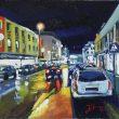 Abendlichter in der Konstantinstraße