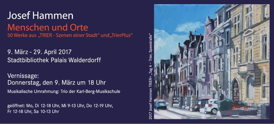 """""""Menschen und Orte"""" in der Stadtbibliothek"""