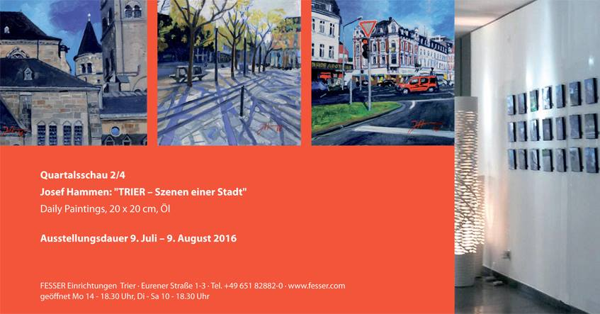 """Quartalschau 2/4 """"Trier-Szenen einer Stadt"""""""
