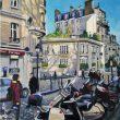 Rue du Mont-Cenis, Montmartre